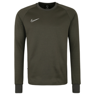 Nike Longsleeve Therma Academy Crew graugrün/schwarz