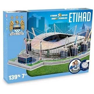 nanostad 3D Stadion Puzzle Etihad Manchester City
