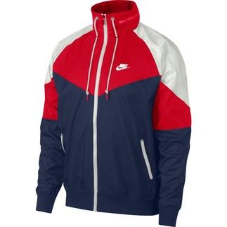 Nike Freizeitjacke Windrunner Blau/rot/weiß