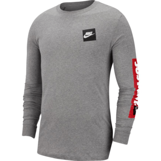 Nike Longsleeve JUST DO IT Grau
