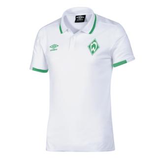 Umbro SV Werder Bremen Polo Shirt 2019/2020 Weiß