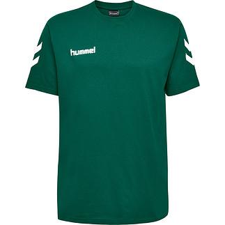 hummel T-Shirt Go Cotton grün