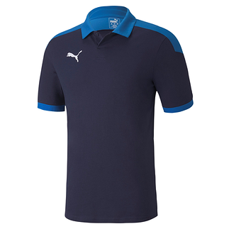 Puma Poloshirt Team FINAL 21 Blau