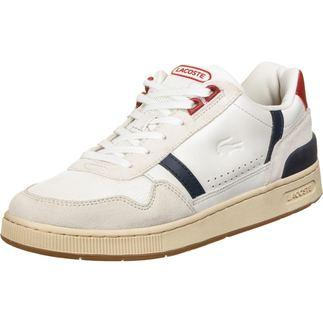 LACOSTE Sneaker T-Clip weiß/dunkelblau