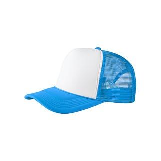 MasterDis Baseballcap Trucker High Profile türkis/weiß