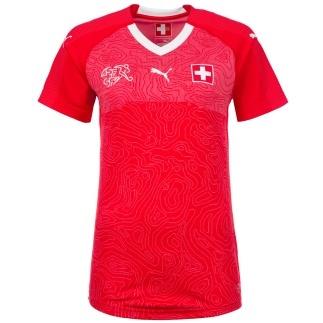 Puma Schweiz Trikot WM 2018 Damen Heim