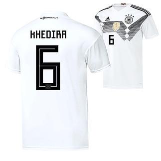 Adidas Deutschland WM 2018 DFB Trikot Heim KHEDIRA
