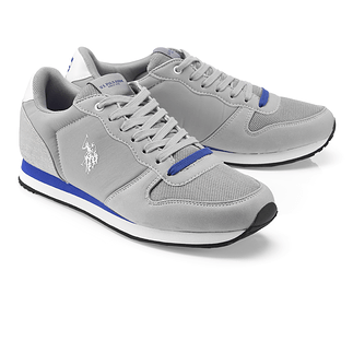 U.S. POLO ASSN. Sneaker Soren grau/blau