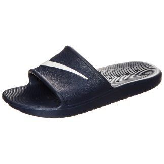 Nike Badesandale Kawa Shower dunkelblau/weiß