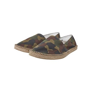 URBAN CLASSICS Espandrillo Canvas wood camo