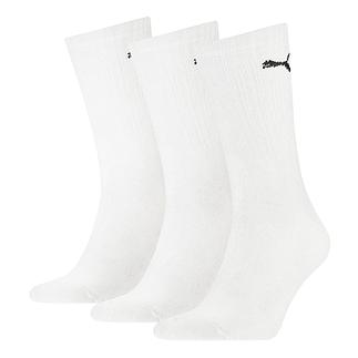 Puma Socken 3er Pack Lang Weiß
