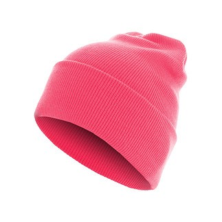 MasterDis Beanie Basic Flap Long neopink