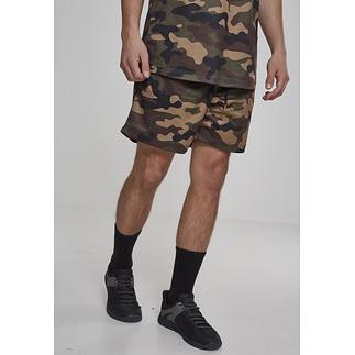 URBAN CLASSICS Shorts Camo Mesh dark camo
