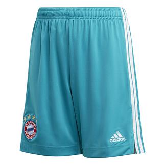 Adidas FC Bayern München Torwartshorts 2020/2021 Heim Kinder