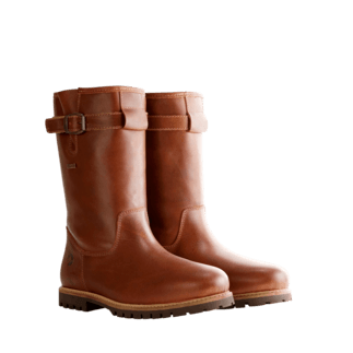 TRAVELIN OUTDOOR Winterstiefel Island cognac