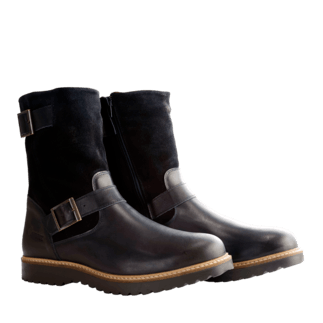 NoGRZ Winterstiefel I. Jones schwarz