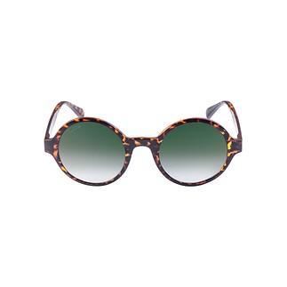 MasterDis Sonnenbrille Retro Funk havanna/grün