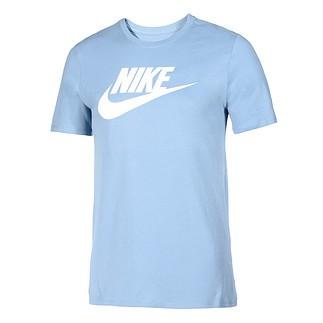 Nike T-Shirt Futura Icon blau/weiß
