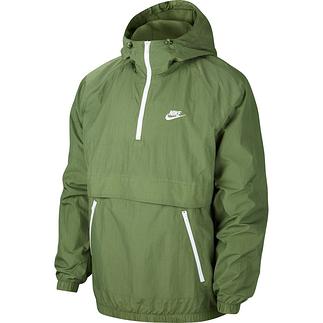 Nike Schlupfjacke Windstopper mit Zip Grün