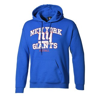 Majestic Athletic New York Giants Hoodie Treser blau