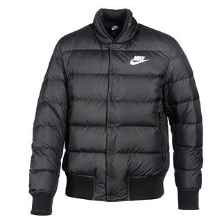 Nike Daunenjacke BOMBER Style Schwarz