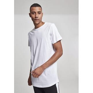 URBAN CLASSICS T-Shirt Shaped Long Weiß