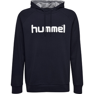 hummel Hoodie Cotton Logo marine