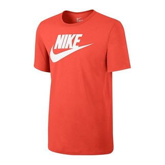 Nike T-Shirt Futura Icon Orange/Weiß