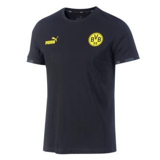 Puma Borussia Dortmund T-Shirt Culture 2019/2020 Schwarz