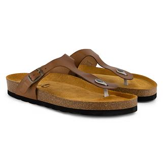 TRAVELIN OUTDOOR Sandale Calp cognac