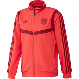 Adidas FC Bayern München Präsentations-Jacke 2019/2020 Rot