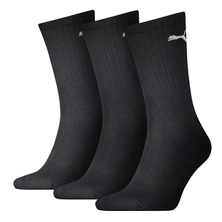 Puma Socken 3er Pack Lang Schwarz