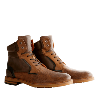 TRAVELIN OUTDOOR Stiefel Backhill High braun