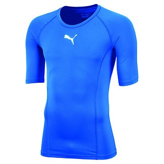 Puma T-Shirt LIGA Baselayer Blau