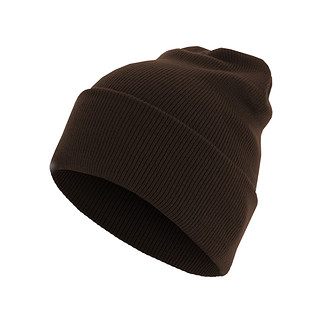 MasterDis Beanie Basic Flap Long schoko