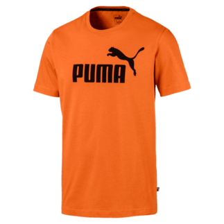 Puma T-Shirt ESS No.1 Jaffa Orange