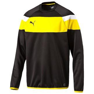 Puma Sweatshirt Spirit Schwarz/Gelb