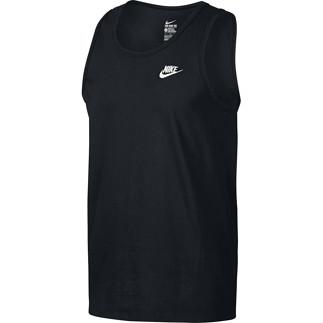 Nike Tanktop Club Futura Schwarz