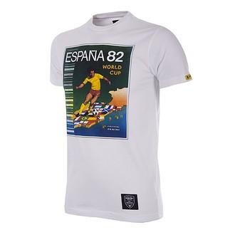 Copa PANINI T-Shirt World Cup 1982 Spanien weiß