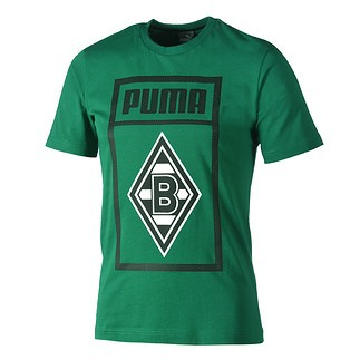 Puma Borussia Mönchengladbach T-Shirt Shoe Tag grün