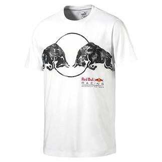 Puma Red Bull Racing T-Shirt Bullen Weiß