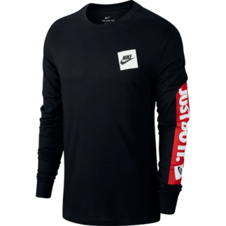 Nike Longsleeve JUST DO IT Schwarz