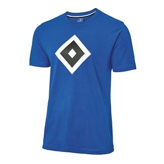 Hamburger SV T-Shirt RAUTE Blau