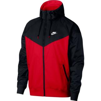 Nike Kapuzenjacke Windrunner Rot/Schwarz
