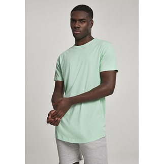 URBAN CLASSICS T-Shirt Shaped Long neomint