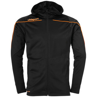 uhlsport Trackjacke Stream 22 schwarz/orange