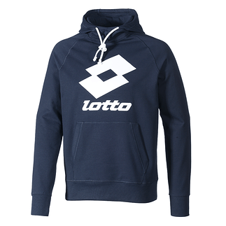Lotto Hoodie Smart HD FT navy/weiß