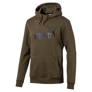 Puma Hoodie ESS No.1 FL Dunkelgrün
