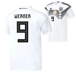 Adidas Deutschland WM 2018 DFB Trikot Heim WERNER