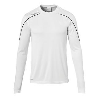 uhlsport Trainingsshirt Langarm Stream 22 weiß/schwarz